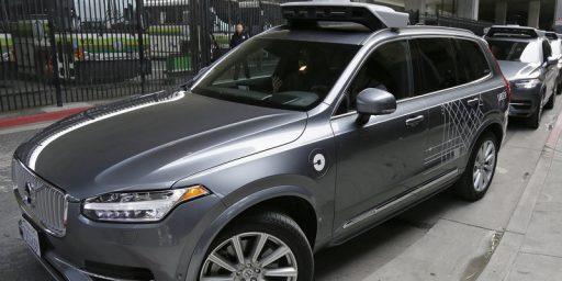 Self-Driving Uber Kills Pedestrian