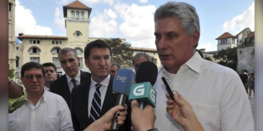 Miguel Díaz-Canel Becomes New President Of Cuba